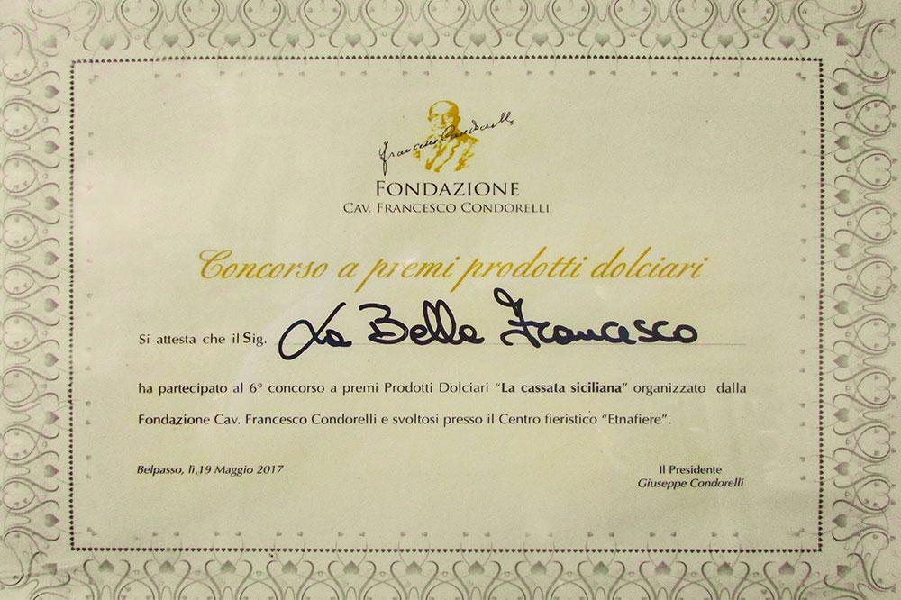 riconoscimento Condorelli